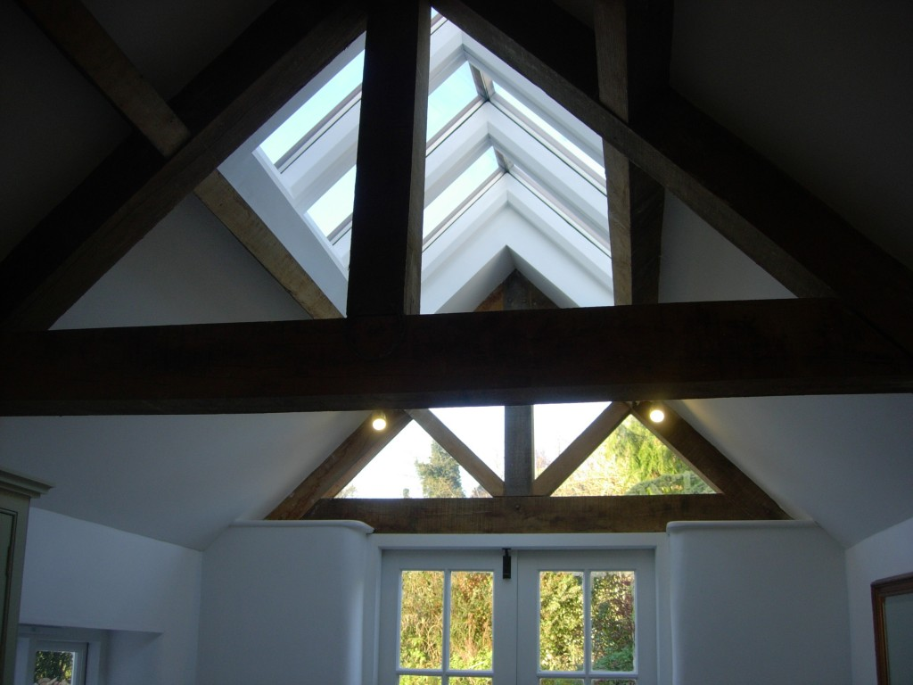 Apex glazing and tradition truss detailing