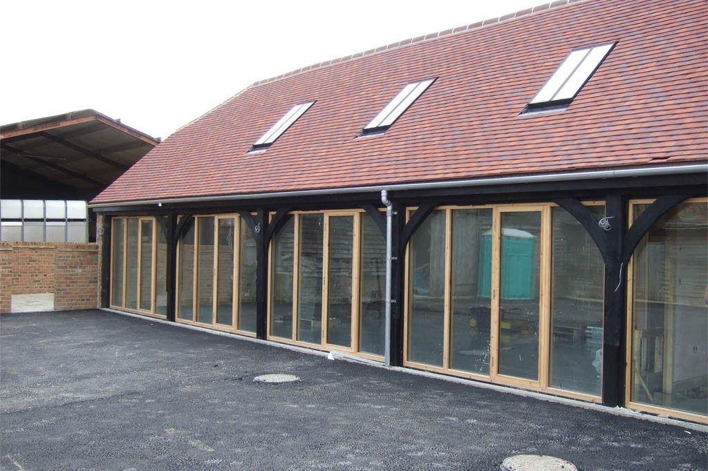 Barn conversion used now for commercial purposes