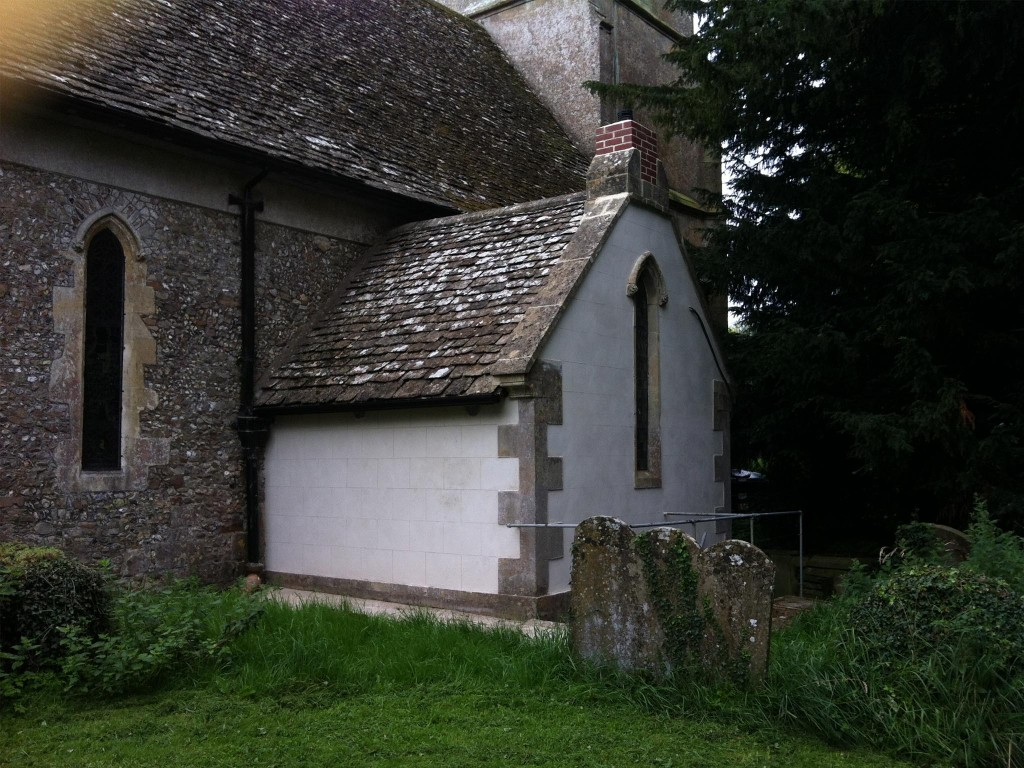 Renovated vestry to Listed Church