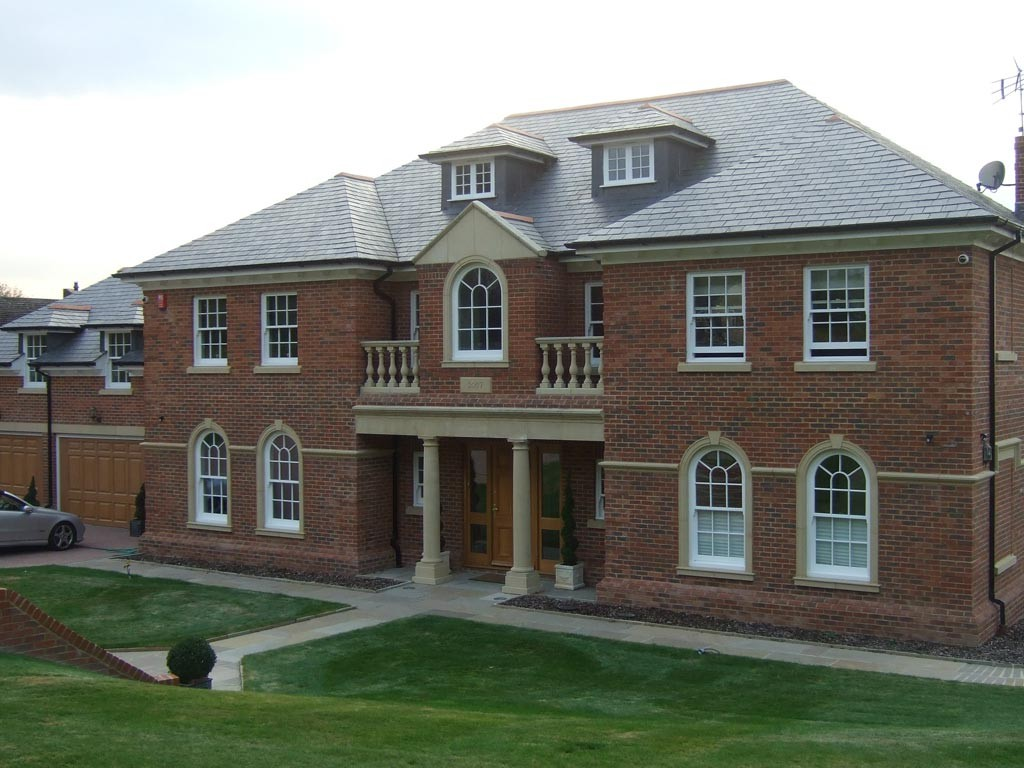 Bespoke new build large dwelling, incorporating snooker hall, swimming pool house, conservatory and landscaping.